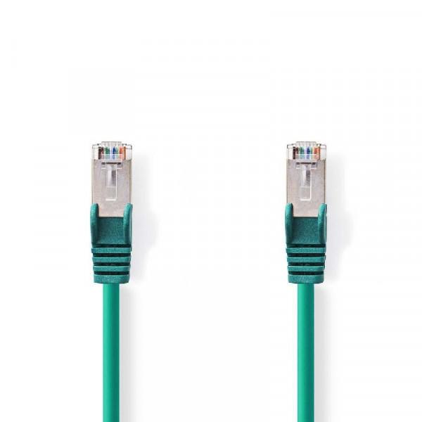 SF/UTP patchkabel netwerkkabel CAT6 groen 3m