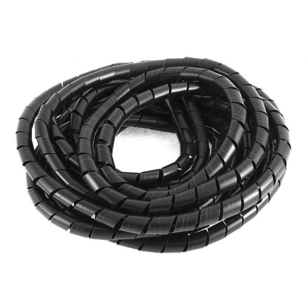 Spiraalband 8 tot 60mm - 10 meter - Zwart
