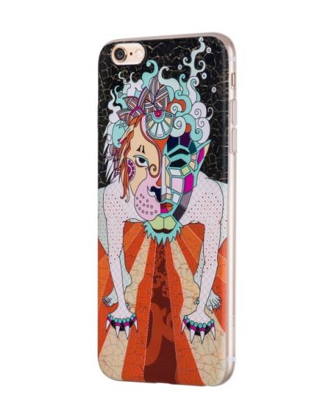 Hoco Mythology Dogz case voor iPhone 6 Plus/6S Plus Zwart
