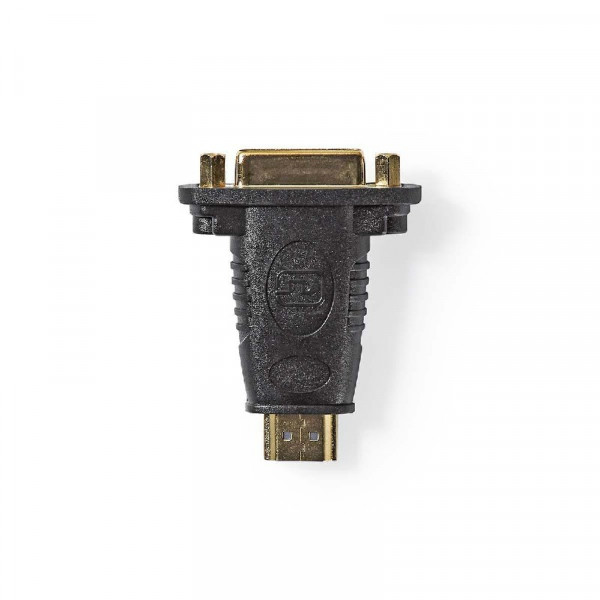 HDMI - DVI-I adapter, Zwart