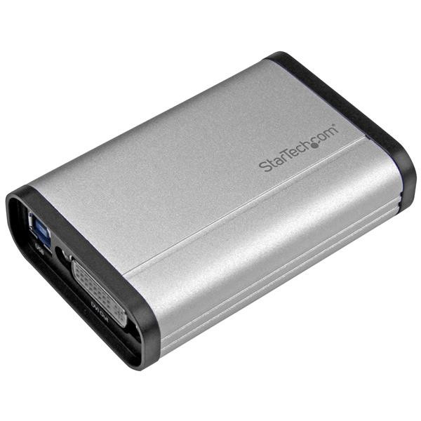 StarTech USB 3.0 opname apparaat voor High-Performance DVI Video - 1080p 60fps - Aluminium