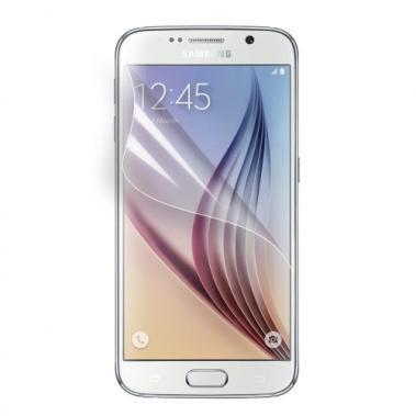 Screenprotector Clear voor Samsung Galaxy S6 Edge