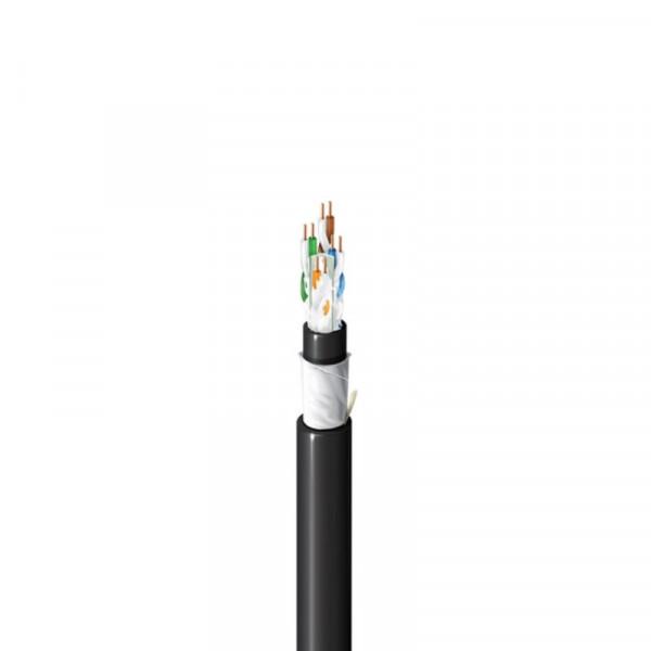 Belden UTP Cat6a kabel voor buitengebruik per meter massief