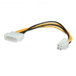 ROLINE Molex naar 4pins ATX adapterkabel