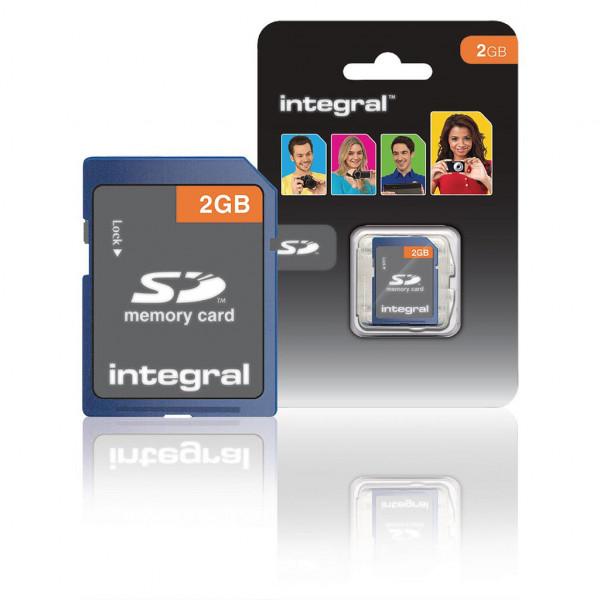 Integral SD kaart 2 GB (class 4)