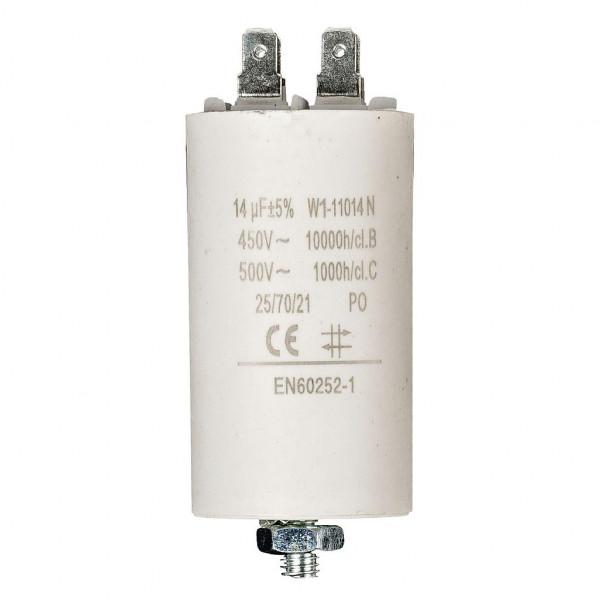 Condensator 14,0uf / 450 v + aarde
