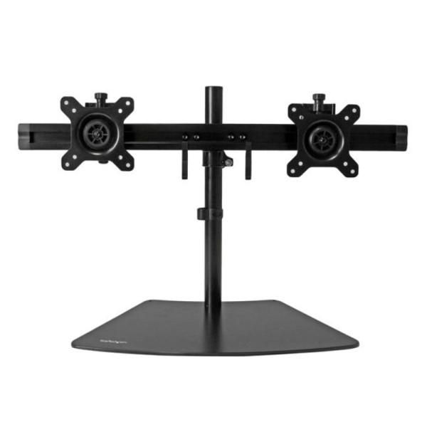 """StarTech Tafelstandaard voor twee schermen tot 24"""" en 8kg Zwart"""