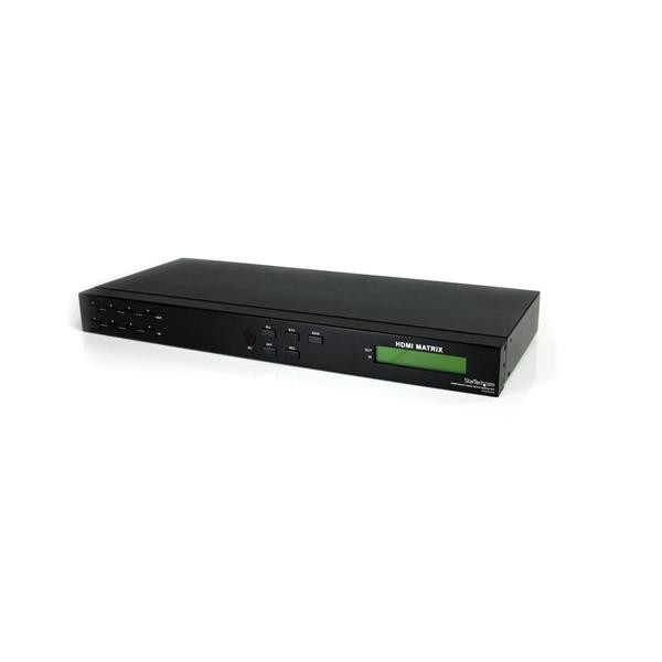 StarTech 4x4 HDMI Matrix Video Schakelaar Splitter met Audio en RS232