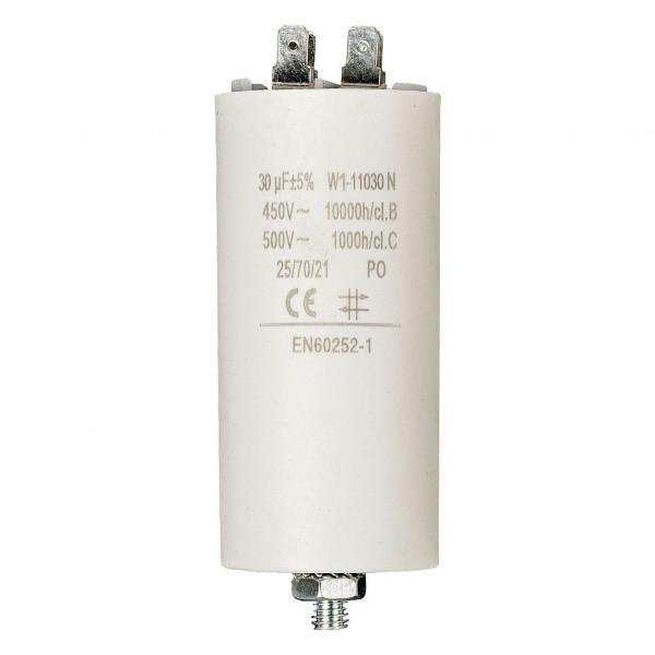 Condensator 30,0uf / 450 v + aarde