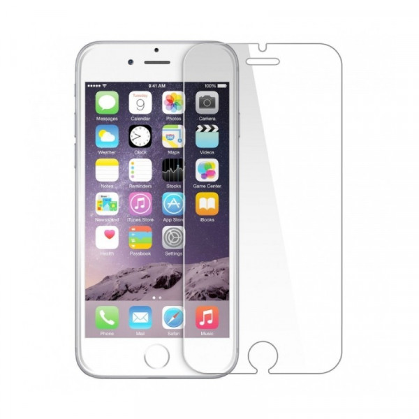 Tempered Glass Clear voor iPhone 6/6S