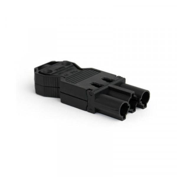 Wieland GST18-3 connector mannelijk zwart