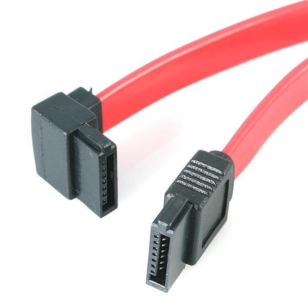 StarTech 15cm Haakse SATA naar SATA Kabel naar Links
