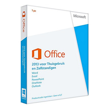 MS Office 2013 thuisgebruik en studenten 1 user