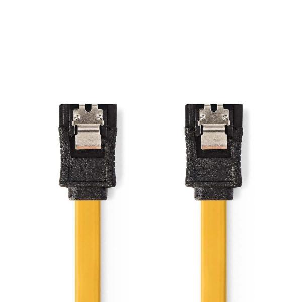 Datakabel SATA 6 Gb/s SATA 7-Pins vrouwelijk 0,5m