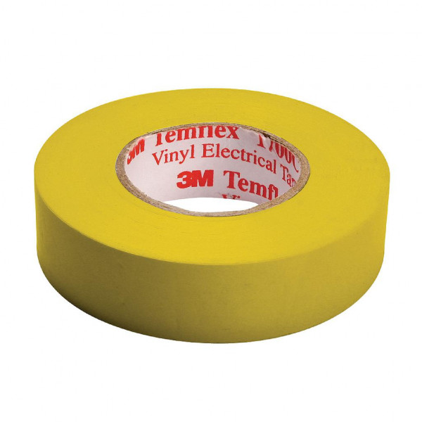 3M Isolatie tape 15mm breed - 10m geel