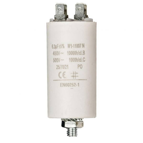 Condensator 6,3uf / 450 v + aarde