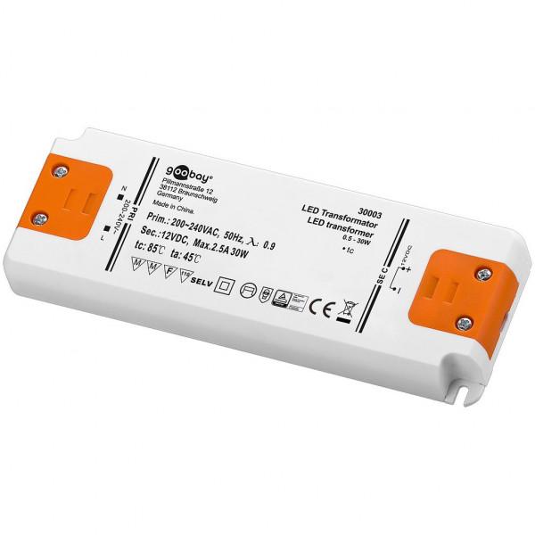 LED Transformator - 12 volt - 30 watt