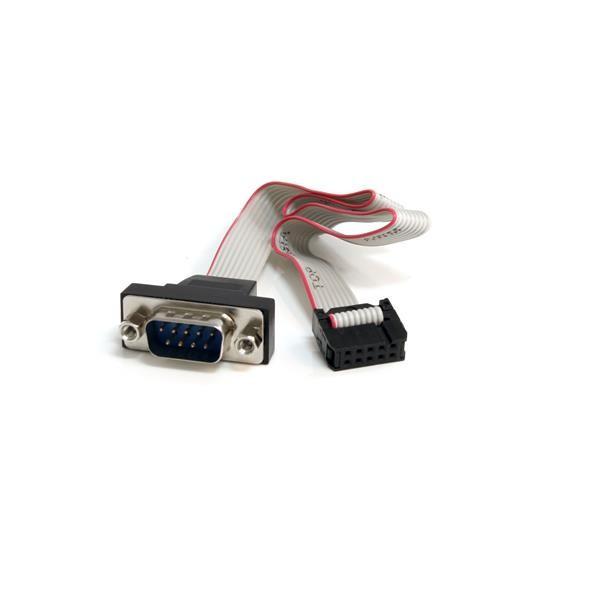 StarTech 40cm 9-pins Serieel Mannelijk naar 10-pins Moederbord Inbouwpaneel Kabel