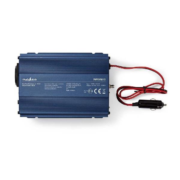 Zuivere Sinus omvormer 12V - 230V stopcontact 150W
