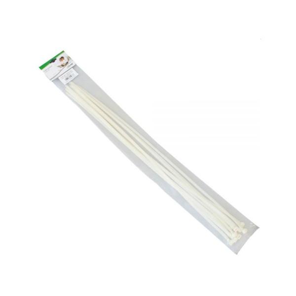InLine Kabelbinder 800mm 10 stuks Wit