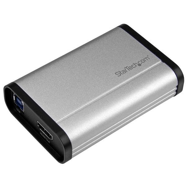 StarTech USB 3.0 opname apparaat voor High-Performance HDMI Video - 1080p 60fps - Aluminium