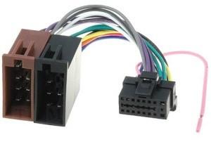 ISO kabel voor Alpine (22 x 10mm) autoradio
