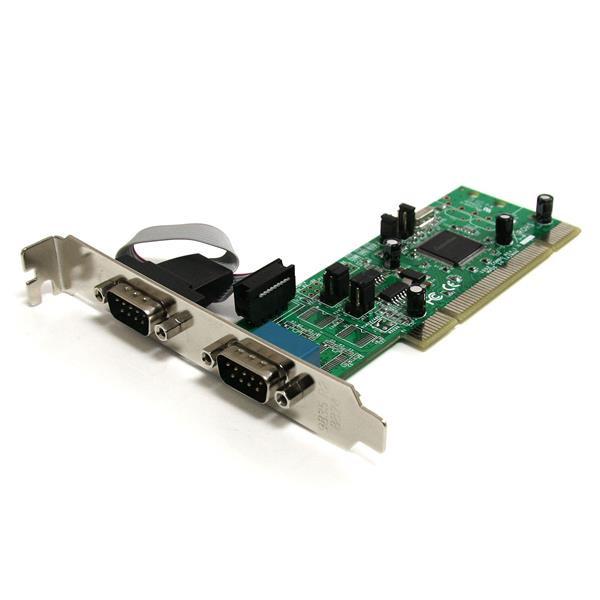 StarTech 2-poort PCI RS422/485 Seriële Adapter-kaart met 16550 UART
