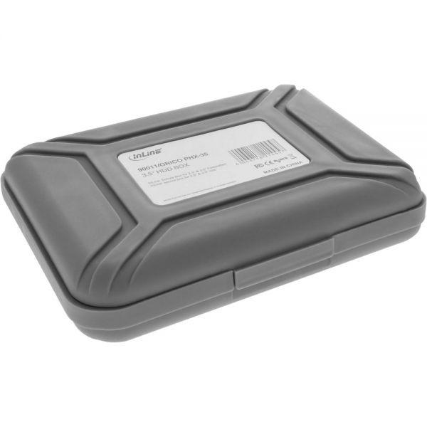 """InLine Beschermdoos voor 3,5"""" HDD Grijs"""