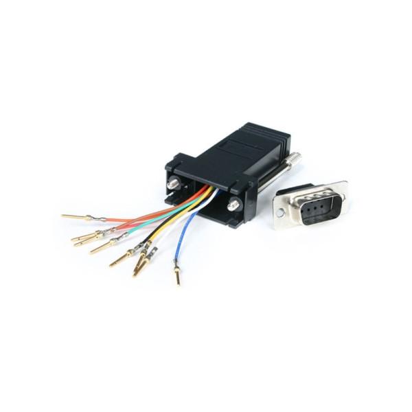 StarTech DB9-naar-RJ45 modulaire adapter - M/F