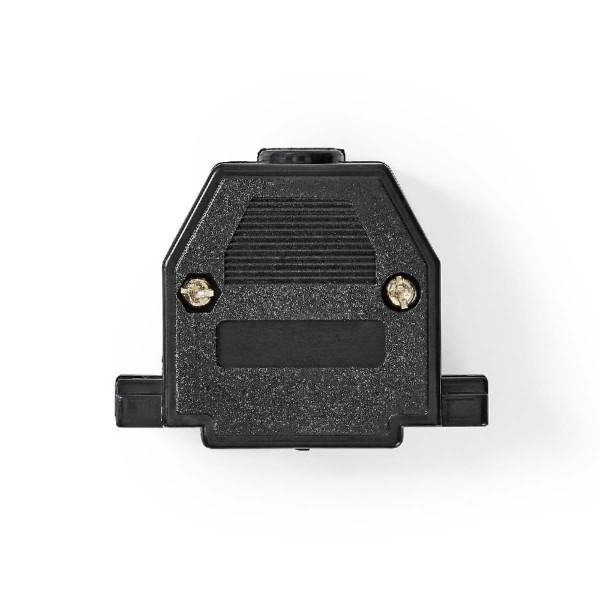 Sub-D / 25 pins Behuizing duimschroef Zwart per stuk