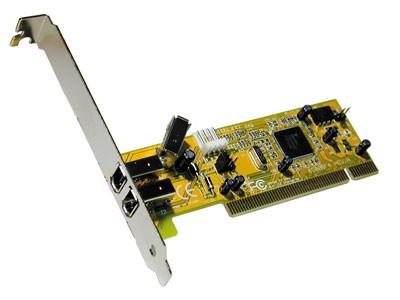 FireWire PCI kaart 2x 400