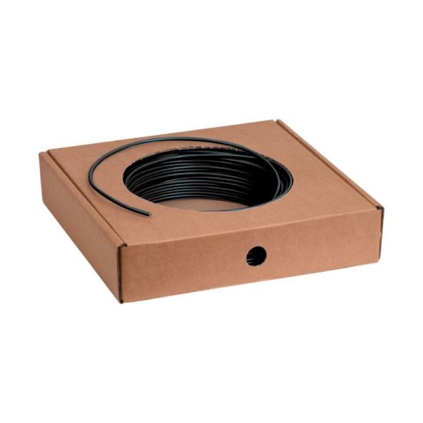 VD installatiedraad H07V-U 1,5mm2 Eca zwart 100m