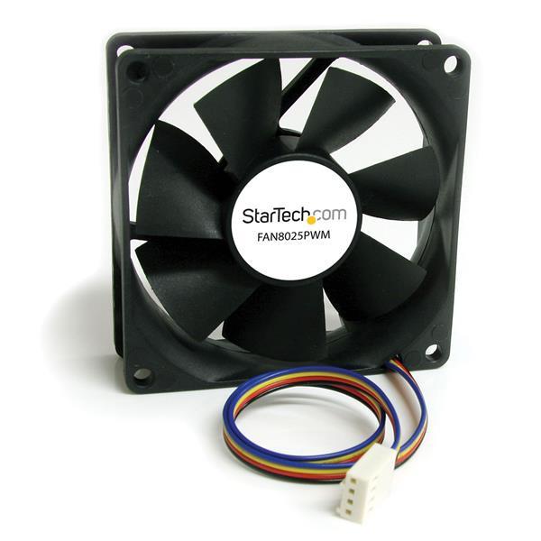 StarTech 80x25mm Ventilator Computerbehuizing met PWM – Pulse Width Modulation