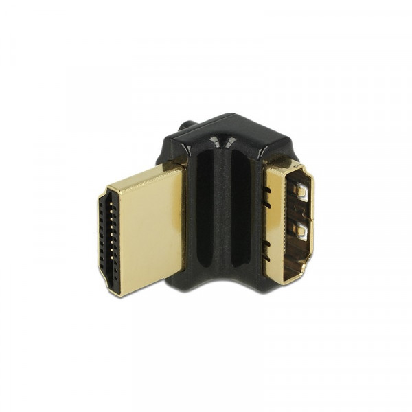 HDMI 2.0 adapter haaks naar boven