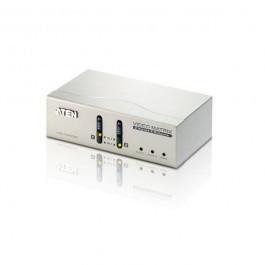 Aten VS0202 2x 2 VGA Poorts VGA Matrix schakelaar met audio