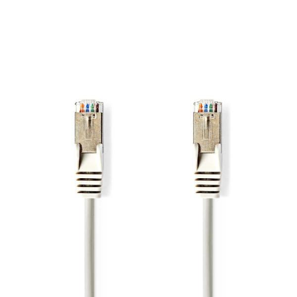 CAT5e S/FTP Netwerkkabel 2m Grijs