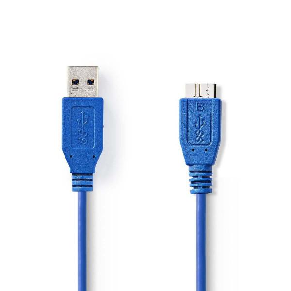 USB 3.0 A naar Micro B kabel 2m