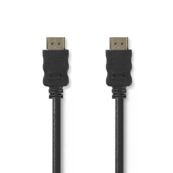 High Speed HDMI kabel met Ethernet HDMI-Connector - HDMI-Connector 2.00 m Zwart