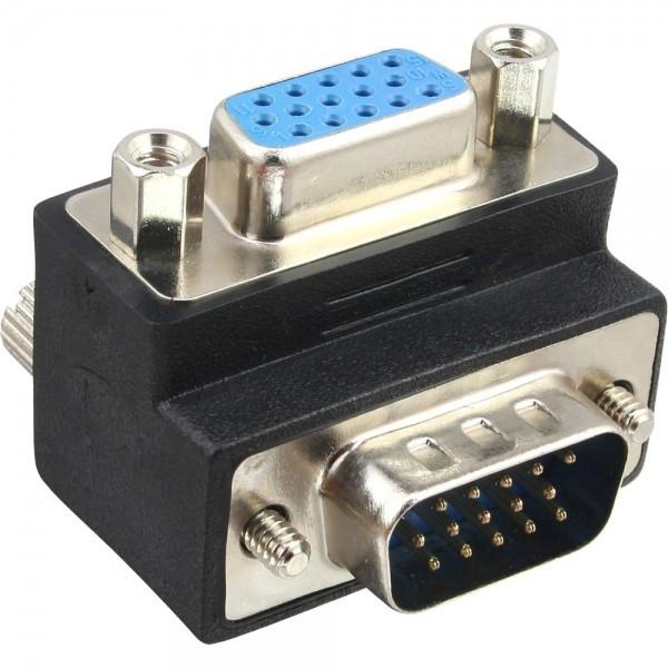 Haakse VGA adapter naar boven