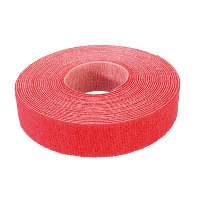 VELCRO® Brand Fasteners Klittenband / Kabelbinder op rol 5m Rood