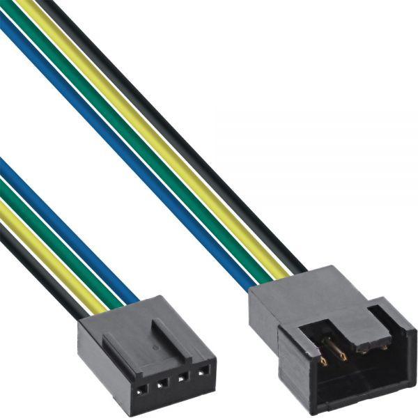 InLine Molex 4 pin ventilator kabel 30cm