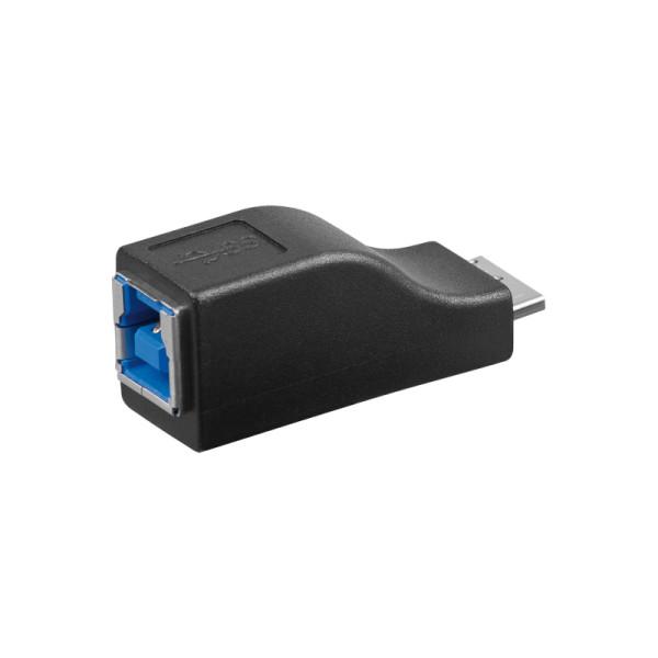 USB 3.0 USB Micro B Mannelijk - USB B Vrouwelijk