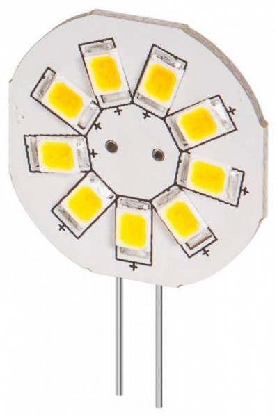 G4 LED lamp / inbouwspot rond - 1,5W warm wit