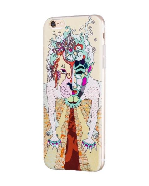 Hoco Mythology Dogz case voor iPhone 6 Plus/6S Plus Wit