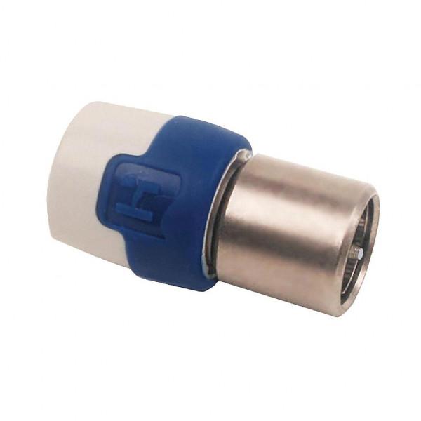 Hirschmann QFC 5 Coax Push-on plug recht