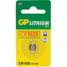 HQ Lithium batterij CR1025 3V