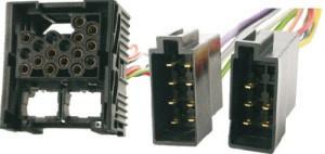 ISO kabel voor BMW/LAND-ROVER/ROVER (45x45mm) autoradio