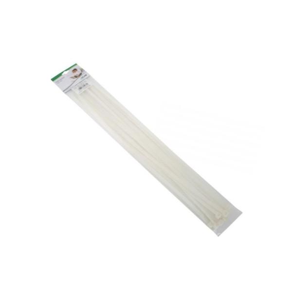 InLine Kabelbinder 650mm 10 stuks Wit
