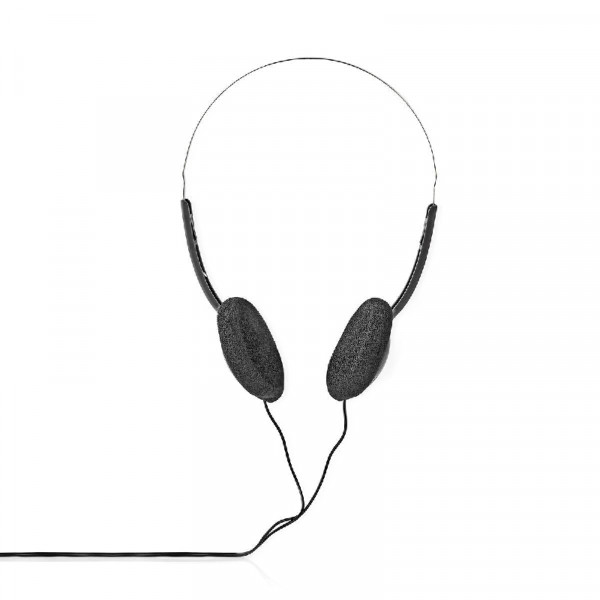 Hoofdtelefoon On-Ear 3.5 mm Zilver/Zwart met 6 meter kabel