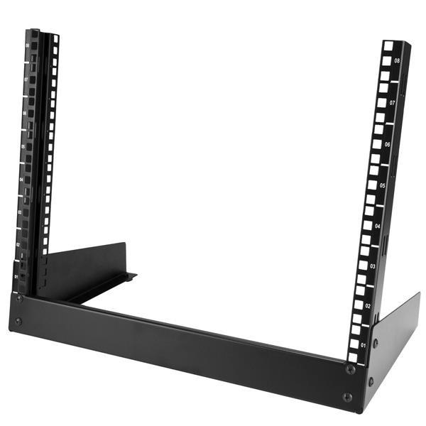 StarTech 8U Desktop rack serverkast - 2-stijlen Open Frame Rack